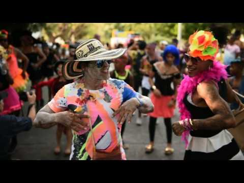 Parades close four days of Colombia's Barranquilla Carnival