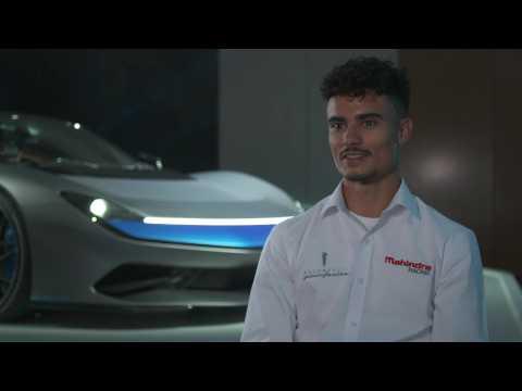 Introducing Pininfarina Battista - Interview Pascal Wehrlein