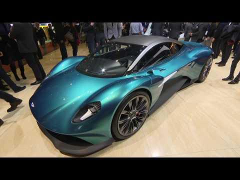 Aston Martin Vanquish Vision Concept at Geneva 2019