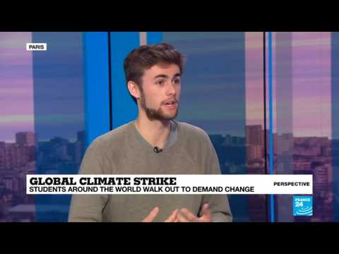Global climate strike: Students around the world walk out to demand change