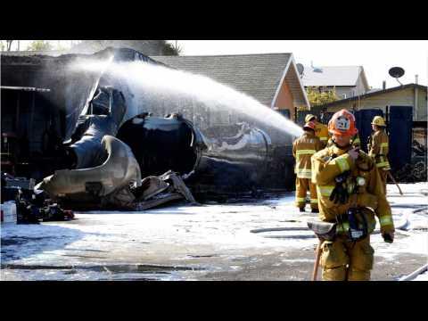 Two Injured By Los Angeles Gasoline Tanker Blast