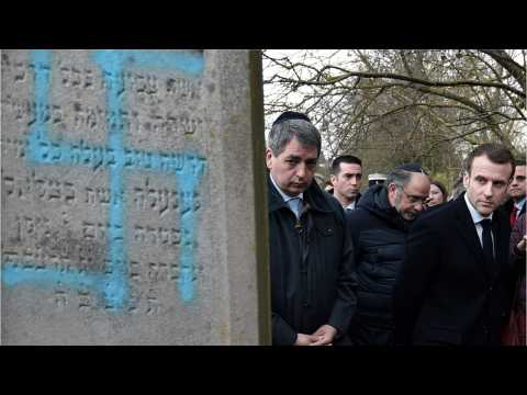 Protesters Rally Against Anti-Semitism In France
