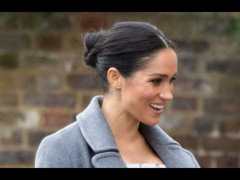 Meghan Markle in New York for baby shower