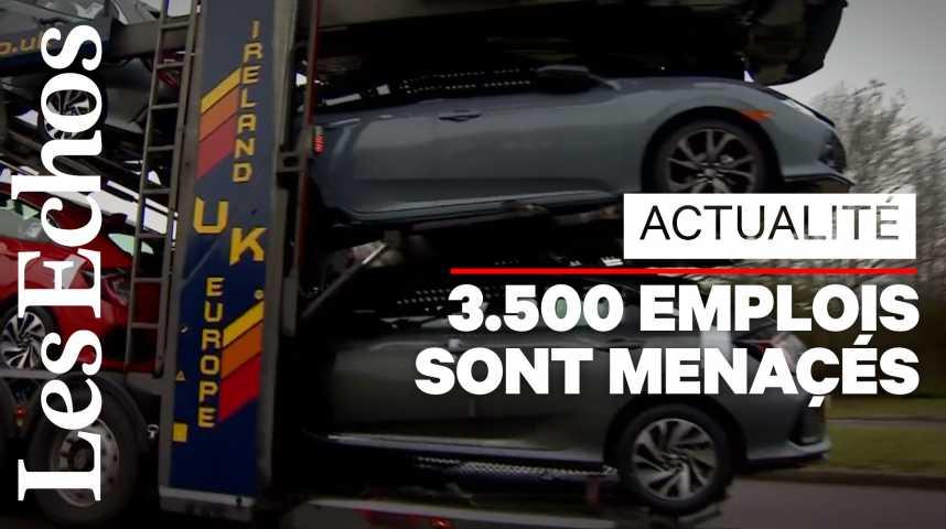 Illustration pour la vidéo Honda : nouvelle victime collatérale du Brexit ?