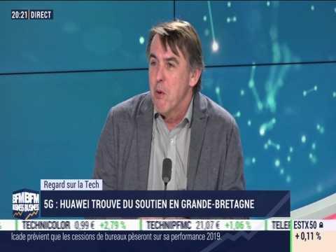 Le Regard sur la Tech: 5G, Huawei trouve du soutien en Grande-Bretagne - 18/02