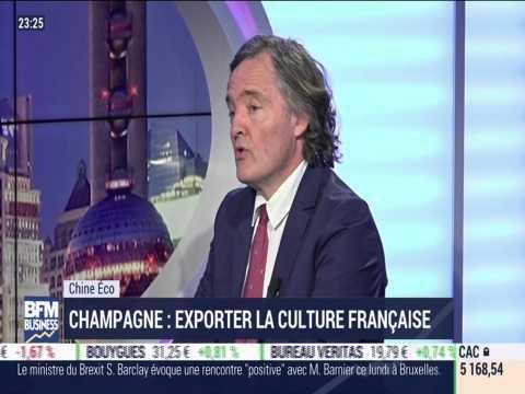 Chine Éco: champagne, exporter la culture française - 18/02