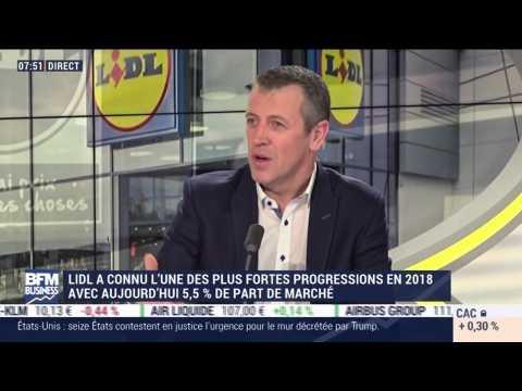 """""""Lidl se considère comme un magasin de proximité"""", Michel Biero - 19/02"""