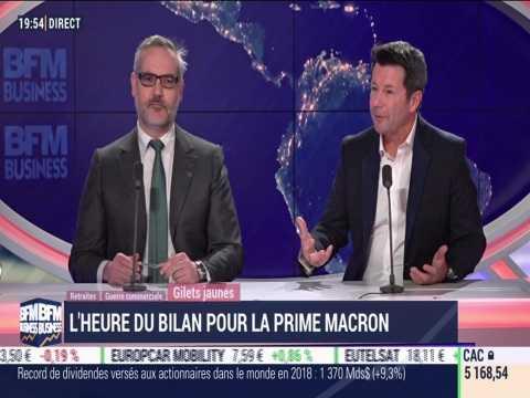 """Les insiders (2/2): L'heure du bilan pour la prime """"Macron"""" - 18/02"""