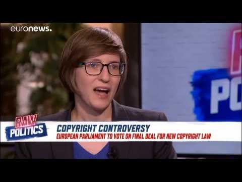 Raw Politics: MEPs discuss upcoming copyright directive