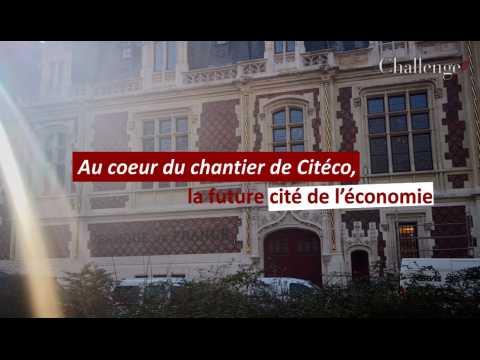 Au cœur du chantier de Citéco, la future cité de l'économie