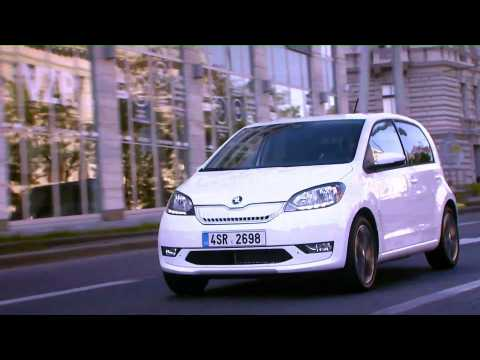 World premiere Skoda CITIGOe iV