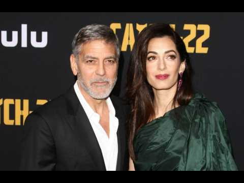 George and Amal Clooney hosting Italian date with fans