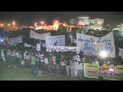 Sudanese protesters challenge military council to continue sit-in