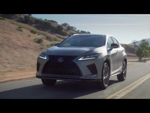 2020 Lexus RX 350 F Sport Driving Video