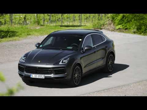 Porsche Cayenne S Coupé Design in quarzite grey