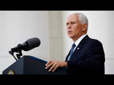 Pence Reiterates Trump's Call For Mexico To Step Up Its Effort To Stem Flow Of Migrants