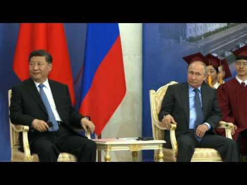 Chinese President Xi Jinping honoured by Russian university