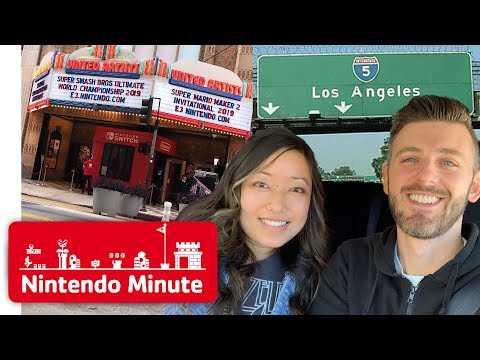 E3 Vlog Day 0: Super Mario Maker 2 Invitational 2019 & Nintendo Switch Road Trip - Nintendo Minute
