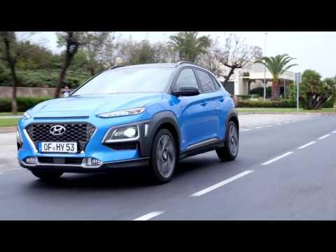 All-New Hyundai Kona Hybrid Driving Video