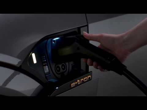 Audi e-tron Technology Tutorial - Charging the e-tron