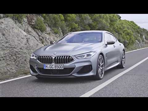 The new BMW 8 Series Coupe Driving Video