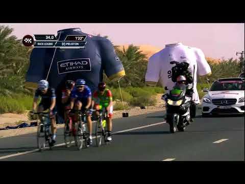2018 Abu Dhabi Tour stage 1 highlights
