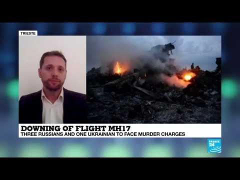 MH17: four suspects named for shotting down plane