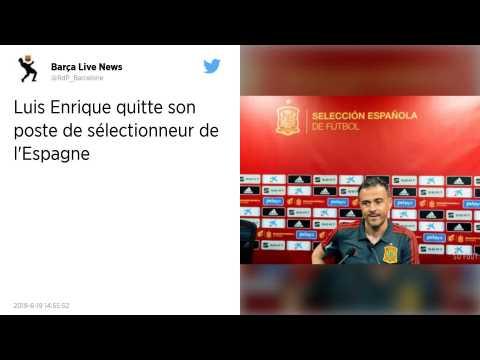 Espagne : Luis Enrique n'est plus le sélectionneur de la «?Roja?», son adjoint Robert Moreno lui succède