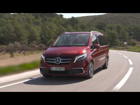 Mercedes-Benz V-Class – Testing the Luxury MPV