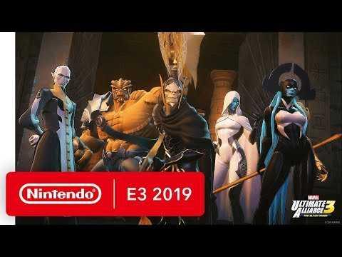 MARVEL ULTIMATE ALLIANCE 3: The Black Order - Nintendo Switch Trailer - Nintendo E3 2019