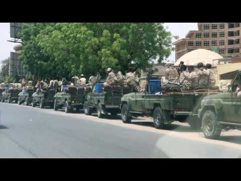 Military vehicles patrol as generals, protesters agree to talk