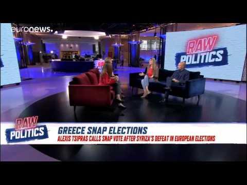 Raw Politics in full: Tory leadership race, Sturgeon visits Brussels, Greek snap elections