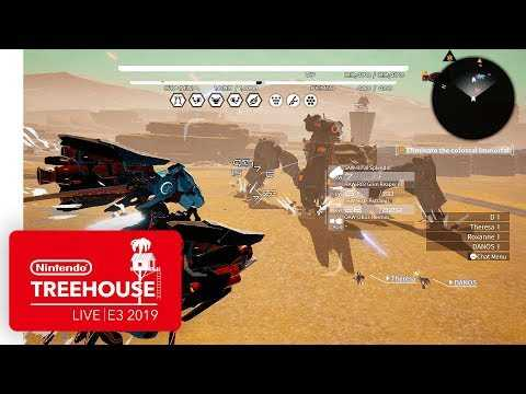 DAEMON X MACHINA Gameplay Pt. 2 - Nintendo Treehouse: Live | E3 2019