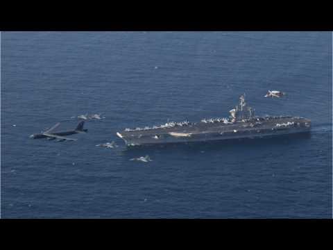 US Aircraft Carrier Strike Group Flexes Muscles Near Iran