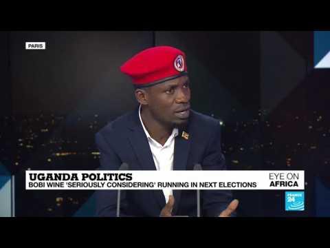 "Bobi Wine says Uganda is ""inspired"" by Sudanese protests"