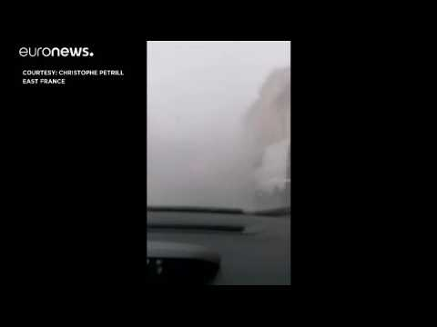 Severe weather in Europe causes devastation