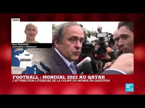 Platini en garde à vue dans l'enquête sur la Coupe du monde au Qatar