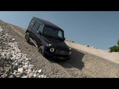 Mercedes-Benz G 500 in G Rock Driving demo