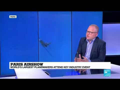 Paris Air Show: World's largest planemakers attend key industry event.