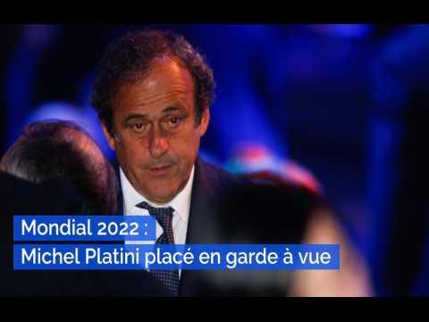 Mondial 2022 : Michel Platini placé en garde à vue dans l'enquête sur l'attribution de la Coupe du monde au Qatar