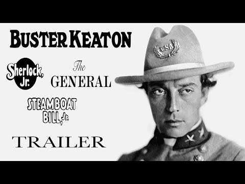 BUSTER KEATON: 3 FILMS [Masters of Cinema] 3-Disc Blu-ray Set Trailer