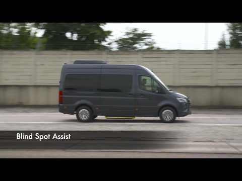 Mercedes-Benz Sprinter Safety Workshop - Active Lane Keeping Assist and Blind Spot Assist