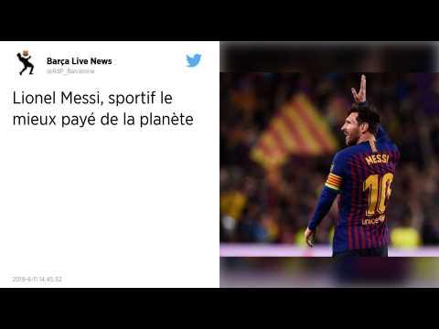 Omnisports. Lionel Messi sportif le mieux payé en 2019 devant Cristiano Ronaldo