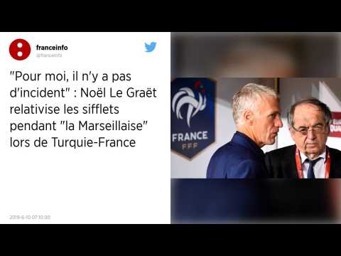 Marseillaise sifflée lors du match Turquie-France?: «?pas d'incident?» pour Le Graët