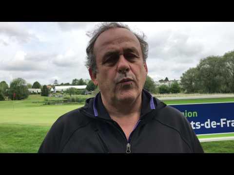 Anzin-Saint-Aubin : Michel Platini, entre passion du foot et du golf