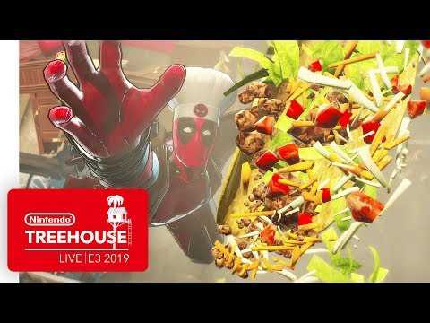 MARVEL ULTIMATE ALLIANCE 3: The Black Order Gameplay Pt. 1 - Nintendo Treehouse: Live | E3 2019