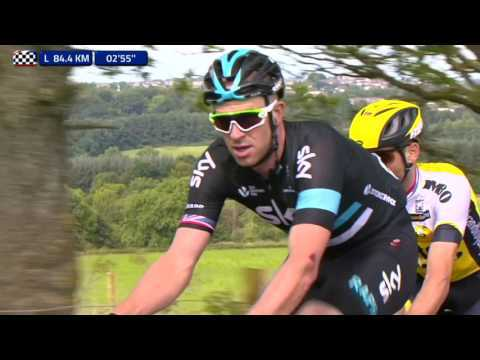 2016 Tour of Britain stage 1 highlights - Video