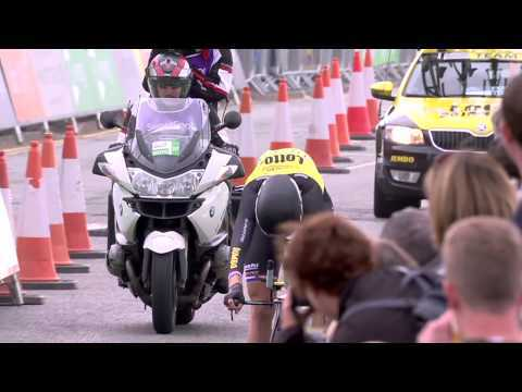 2017 Tour of Britain stage 5 highlights