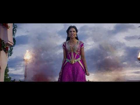 ALADDIN | Naomi Scott - Jasmine Sings Speechless Clip | Official Disney UK