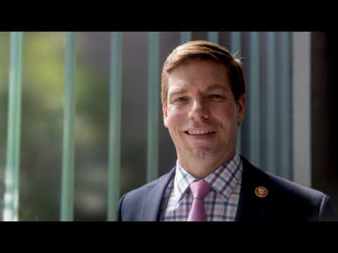 Eric Swalwell On Top Of Presidential Candidates For Tweeting The Most About Trump